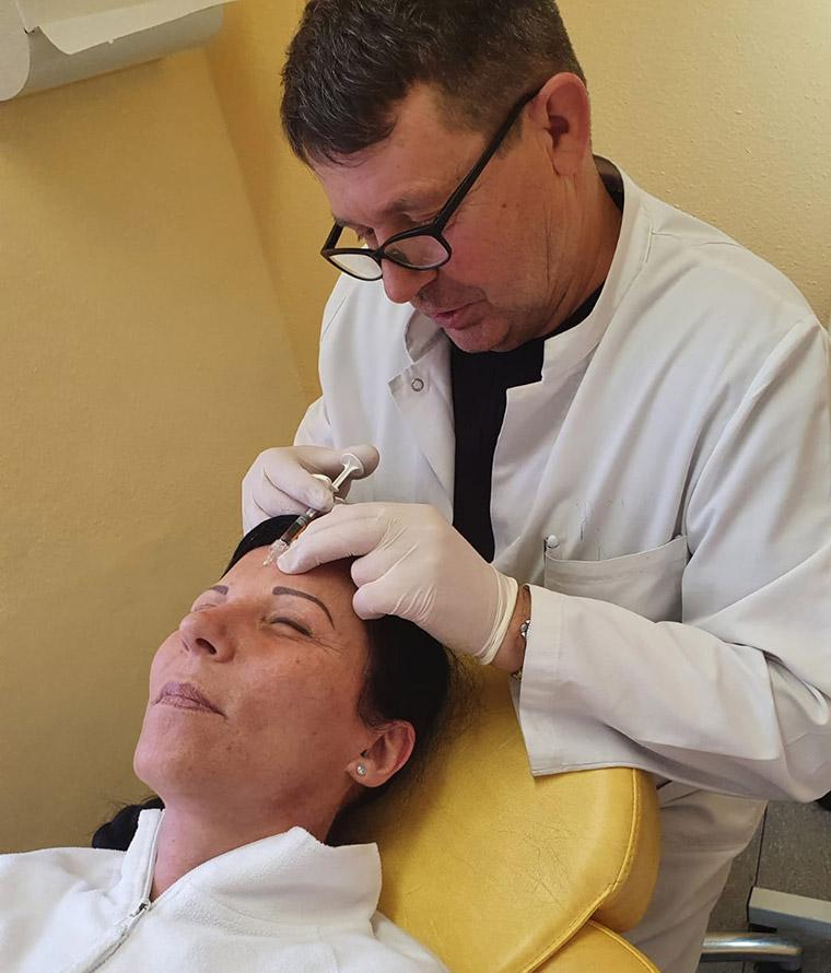 Ästhetischer Eingriff beim Hautarzt in Straubing